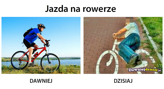 Jazda na rowerze –