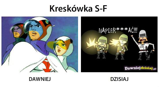 Kreskówka S-F –
