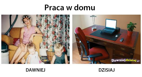 Praca w domu –
