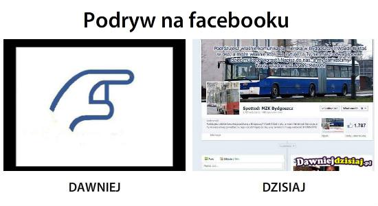 Podryw na facebooku –