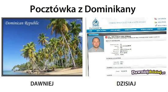 Pocztówka z Dominikany –