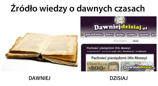 Źródło wiedzy o dawnych czasach –