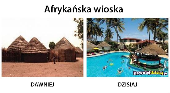 Afrykańska wioska –