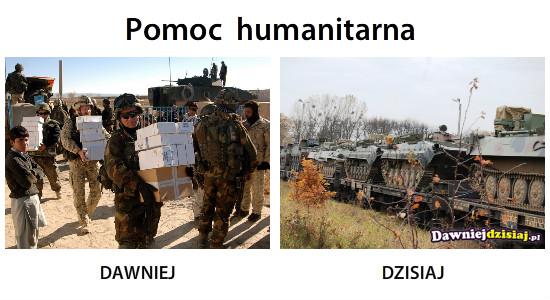 Pomoc  humanitarna –