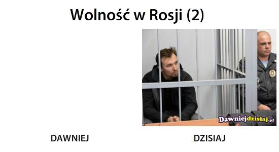 Wolność w Rosji (2) –