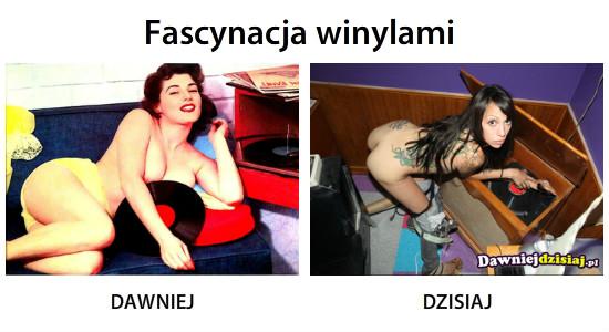 Fascynacja winylami –