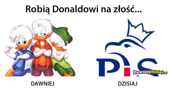 Robią Donaldowi na złość... –