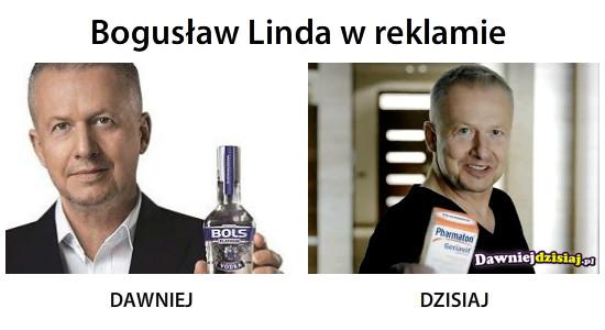 Bogusław Linda w reklamie –