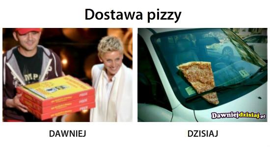 Dostawa pizzy –