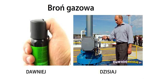 Broń gazowa –