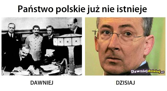 Państwo polskie już nie istnieje –
