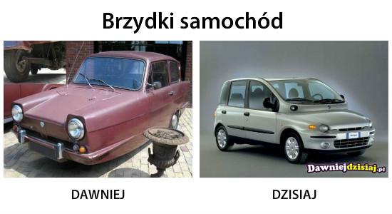 Brzydki samochód –