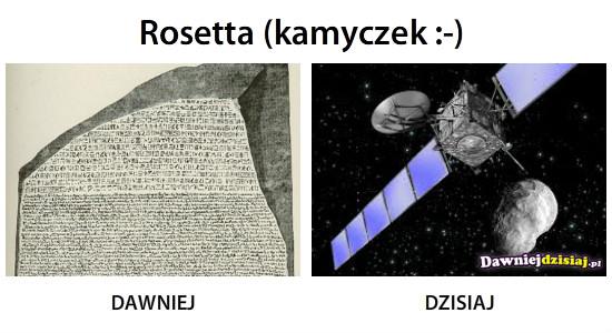 Rosetta (kamyczek :-) –