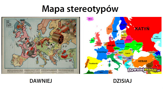 Mapa stereotypów –