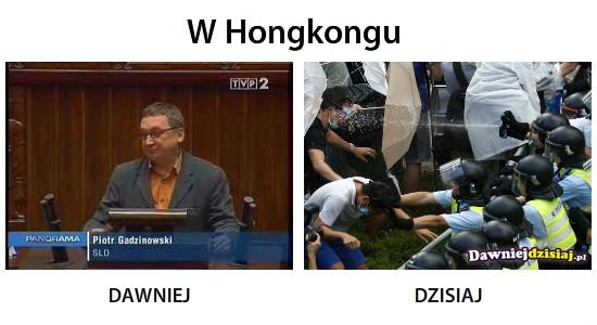 W Hongkongu –