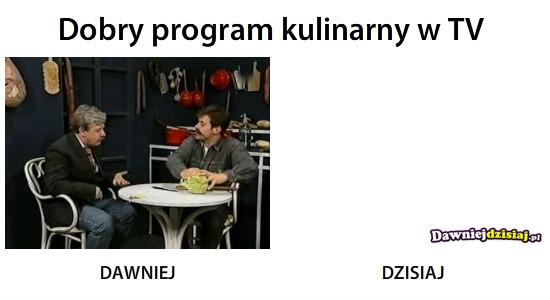 Dobry program kulinarny w TV –