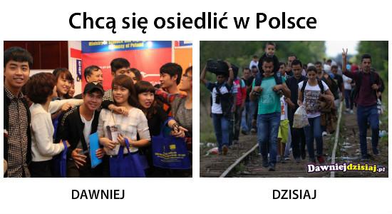 Chcą się osiedlić w Polsce –