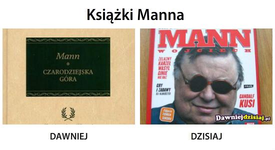 Książki Manna –