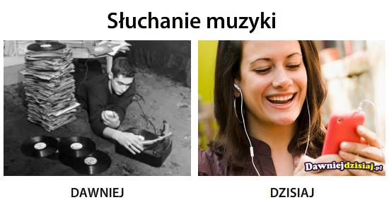 Słuchanie muzyki –