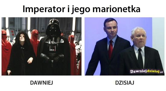 Imperator i jego marionetka –