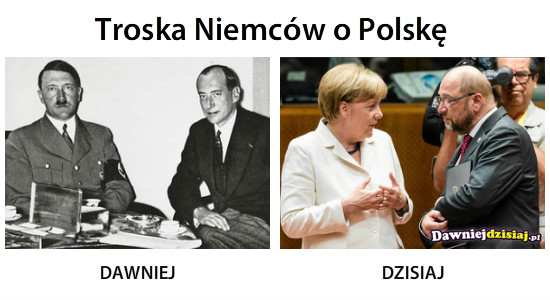 Troska Niemców o Polskę –