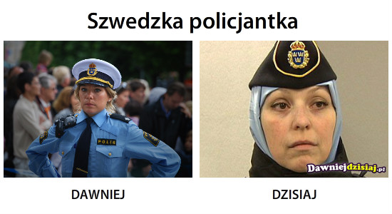 Szwedzka policjantka –