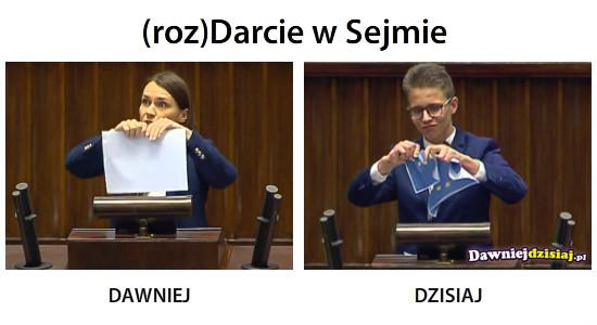 (roz)Darcie w Sejmie –