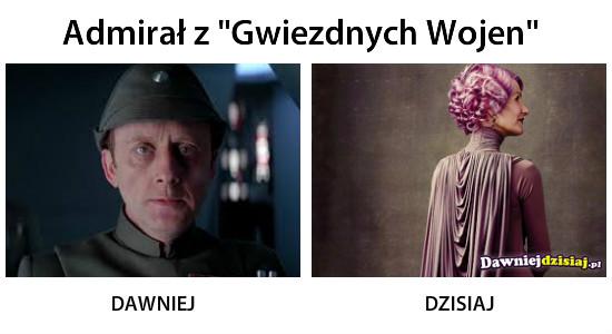 """Admirał z """"Gwiezdnych Wojen"""" –"""