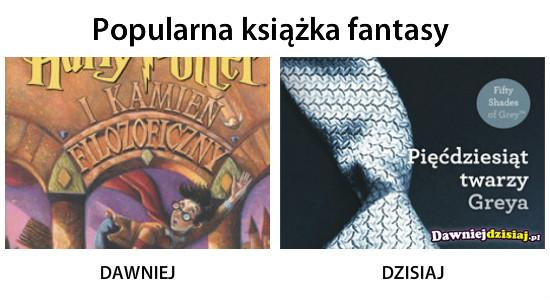 Popularna książka fantasy –