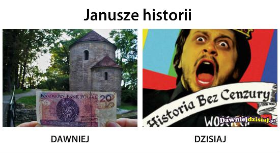 Janusze historii –