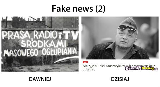 Fake news (2) –